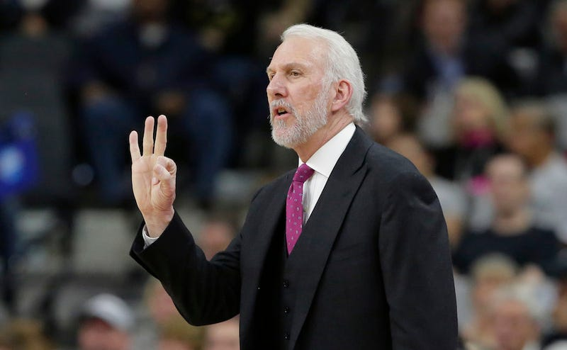 Illustration for article titled Gregg Popovich Says He Hates The Three-Pointer, Proves Why He's A Good Coach