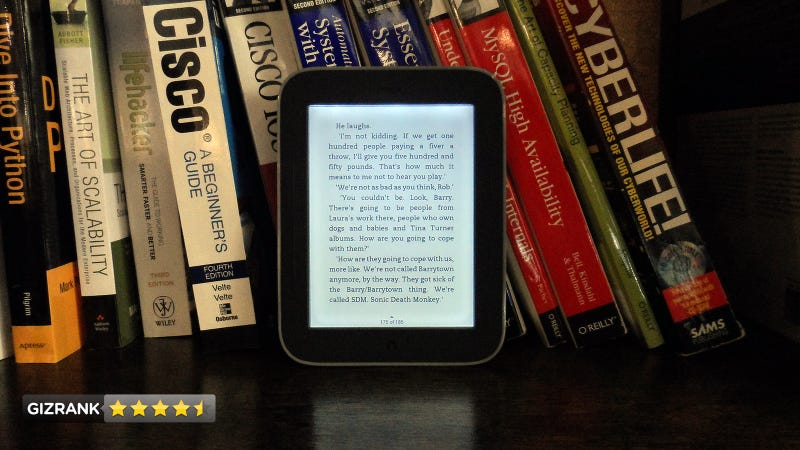 Illustration for article titled Nook Simple Touch with GlowLight Lightning Review: This Is the Best eReader You Can Buy