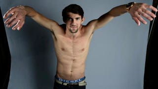 Illustration for article titled This Is The Ugliest Picture Of Michael Phelps You Will Ever See
