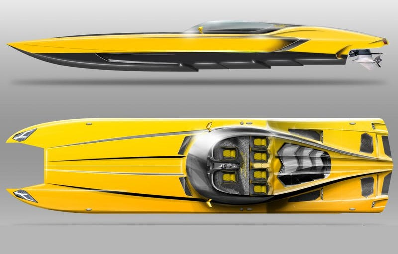 This Man Built A $1.3 Million Lamborghini Speedboat With