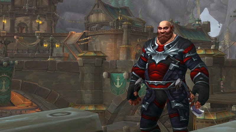 Illustration for article titled Today I Can Finally Be A Tall, Portly Man In World Of Warcraft