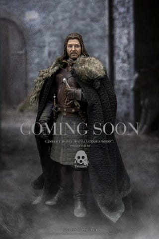 Illustration for article titled Deluxe Eddard Stark Action Figure