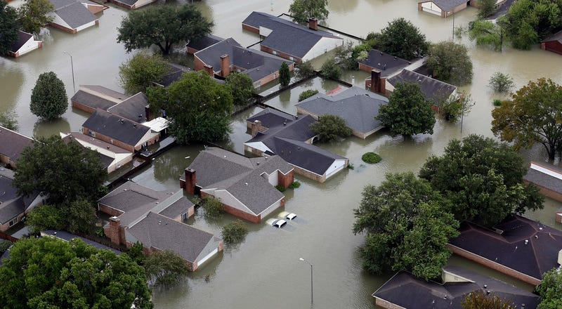 Foto: Inundaciones ocasionadas por Harvey en Houston, Texas (AP Images).