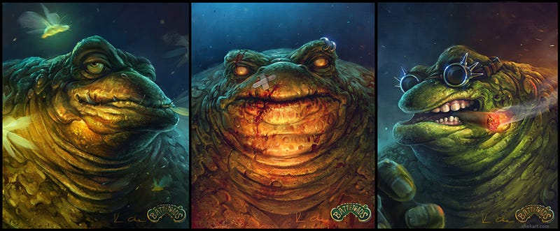 Illustration for article titled Deface The Battletoads As Much As You Want, They'll Still Be Cool