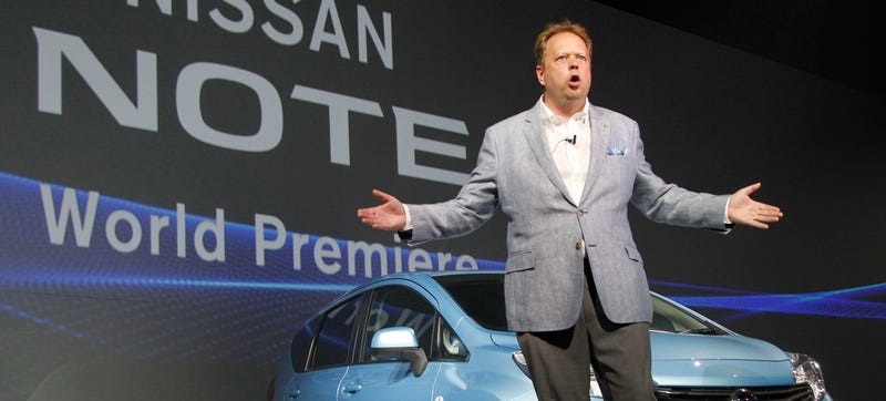 Illustration for article titled Did Nissan Lose An Exec Because They Wouldn't Buy Into Aston Martin?
