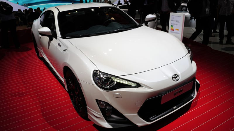 the subaru brz not