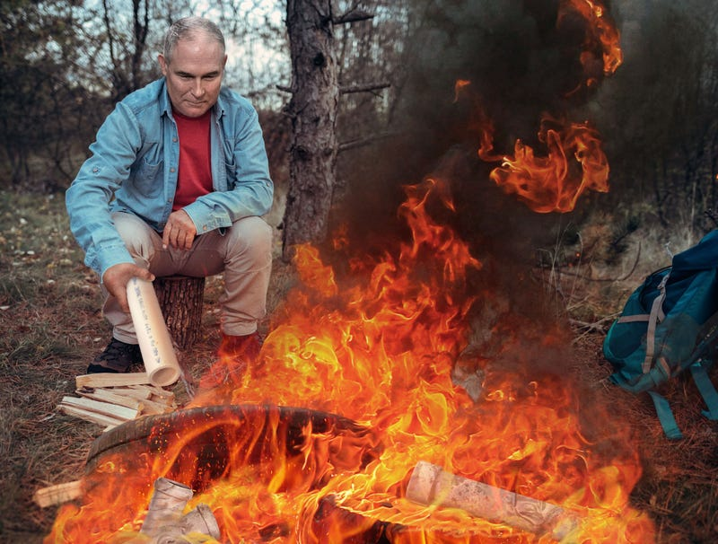 Illustration for article titled Scott Pruitt Tosses Another PVC Tube On Campfire
