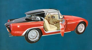 Illustration for article titled Is This History's Weirdest-Looking Coachbuilt Car?