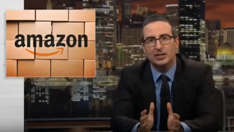 Just in time for Prime Day, John Oliver exposes Amazon's high-pressure warehouses