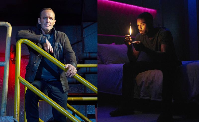 Clark Gregg stars in Agents Of S.H.I.E.L.D.; Michael B. Jordan stars in Fahrenheit 451
