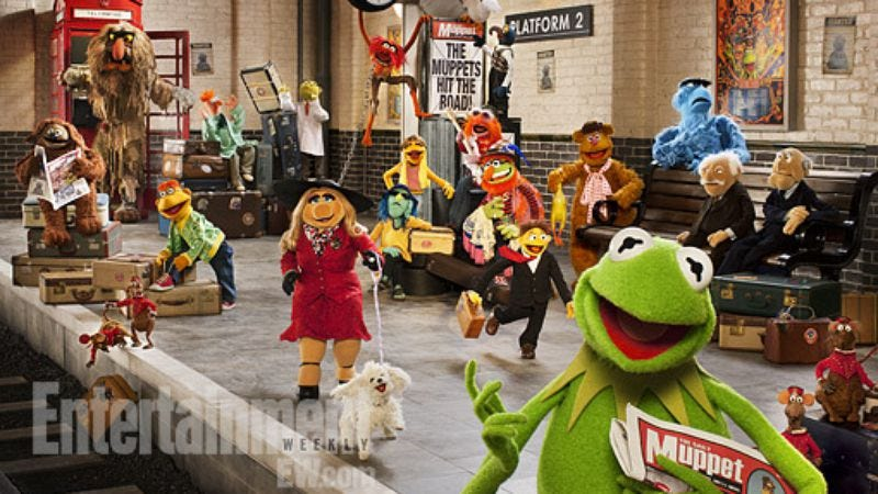Illustration for article titled The Muppets' next European caper sounds a lot like their last European caper