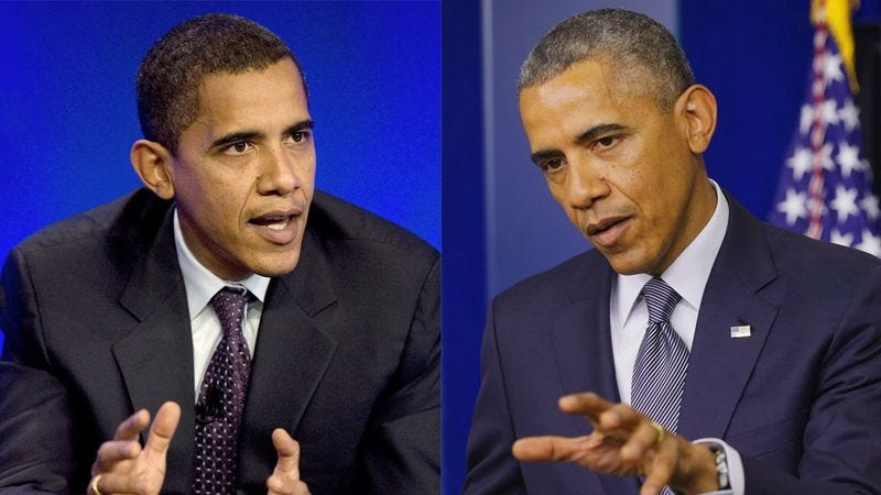 Obama V. Obama