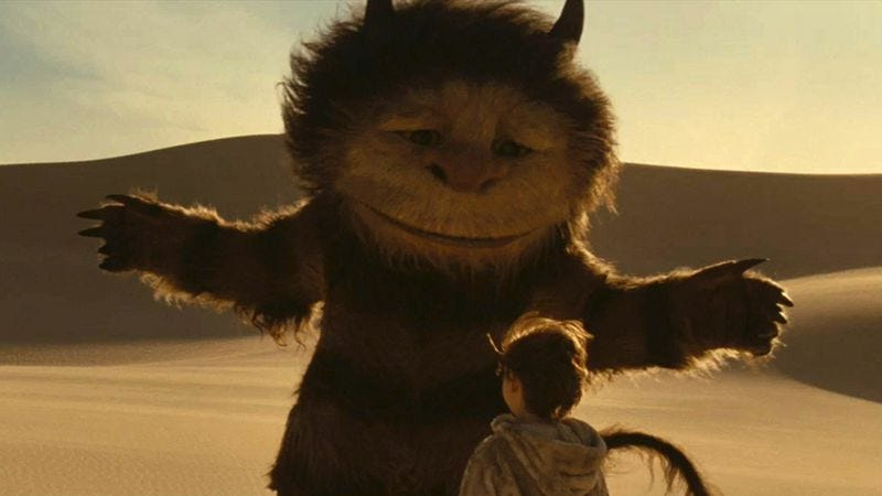 Illustration for article titled Where The Wild Things Are is a moving showcase for James Gandolfini's vocal talents
