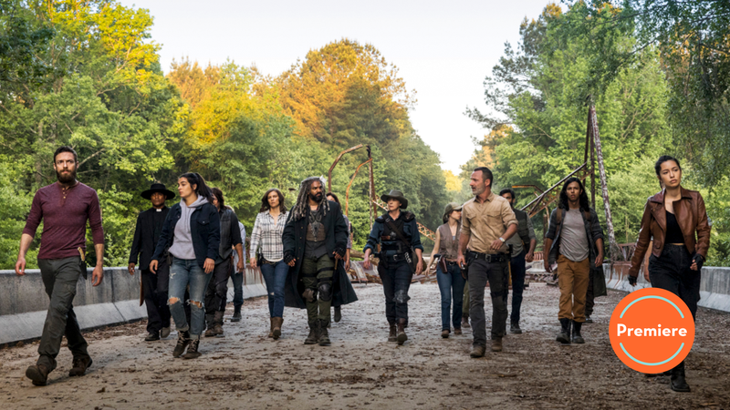 Illustration for article titled The Walking Dead is back, and it's a new world order—but a very fragile one