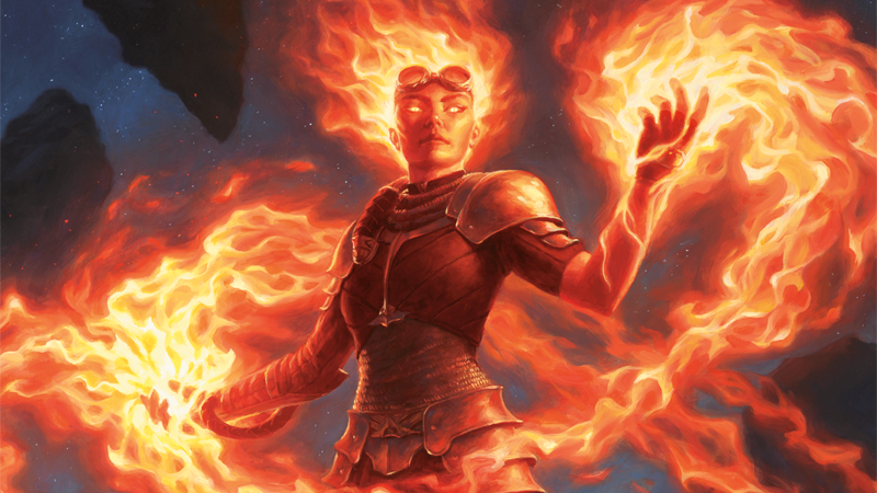 Chandra Nalaar, in all her flaming glory.
