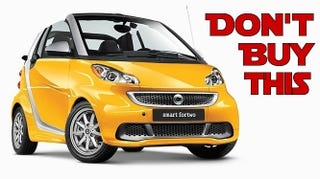 Illustration for article titled The Top Five Cars You Can Buy For The Price Of A Smart ForTwo Cabrio