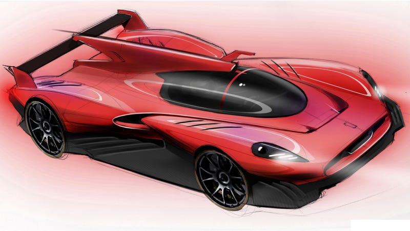 Illustration for article titled This Gorgeous Hi-Tech Ferrari Race Car Might Battle At Le Mans As A Privateer