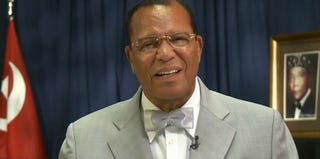 Minister Louis Farrakhan, the Nation of Islam leader (YouTube screengrab)