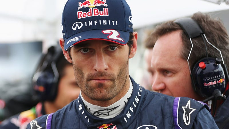 Illustration for article titled Fuel Issue Means Mark Webber Will Start Last At Chinese Grand Prix