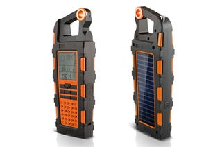 Illustration for article titled Solar Radio Doubles As USB Charging Multitool for Adventurers