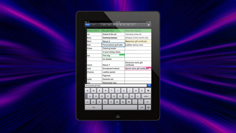 Illustration for article titled Google Drive Adds Spreadsheet Editing to Its Mobile App