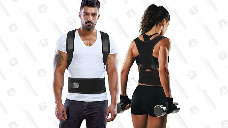 Back Brace Posture Corrector | $18 | Amazon | Promo code VYA9J2XA