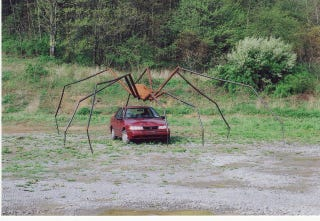 """Illustration for article titled 870,000 Toyotas Recalled Due to """"Spider-Related Problem"""""""