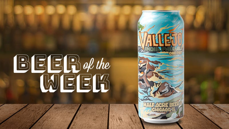 Illustration for article titled Beer Of The Week: Half Acre's Vallejo is a super-clean IPA built for spring