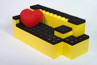 Illustration for article titled LunaBlocks: Build Your Own Lego Furniture