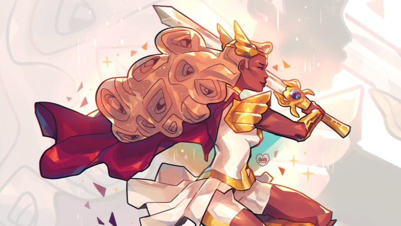 She-Ra ready to wreck you.