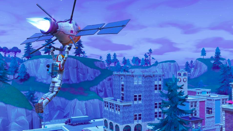 Fortnite Players Stop Waiting For Comet, Destroy Tilted Towers Themselves