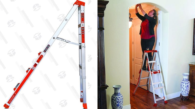 Little Giant QuickStep Adjustable Ladder | $70 | Woot