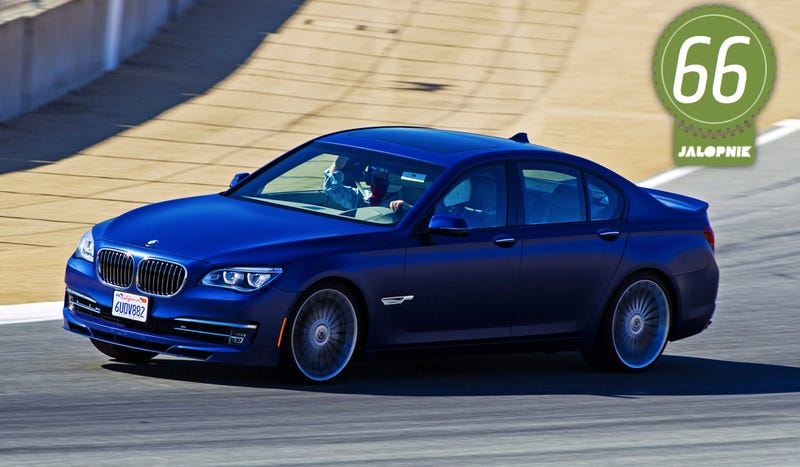 Illustration for article titled 2013 BMW Alpina B7: The Jalopnik Review