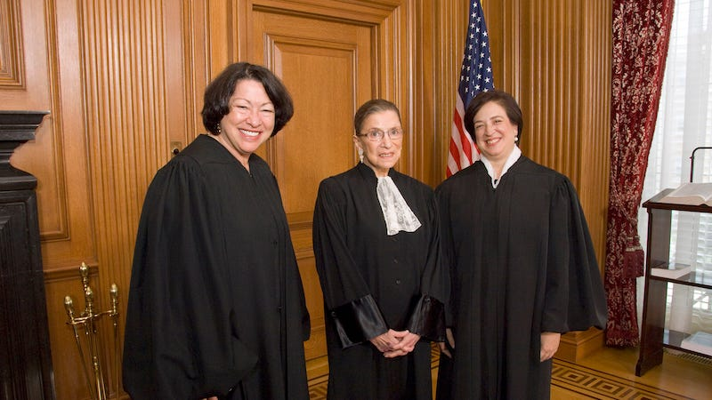 The Supreme Court's Three Female Justices Are Fighting Tooth and Nail for Reproductive Rights