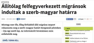Illustration for article titled Szégyenteljes álhírt volt képes lehozni az Origo