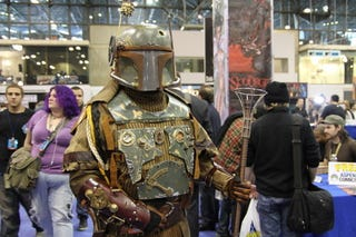 Illustration for article titled Steampunk Boba Fett Is Also Attending New York Comic-Con