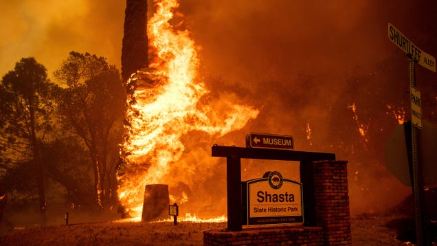 The Carr Fire Raged Through a Northern California City Overnight