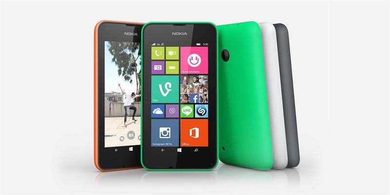 Illustration for article titled El Lumia más barato de Microsoft es el nuevo 530: €85/$114