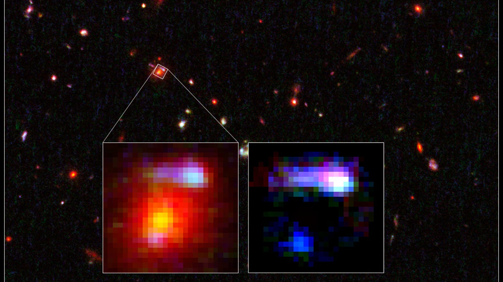 Astronomers Happen Upon The Most Distant Lensing Galaxy Ever Discovered