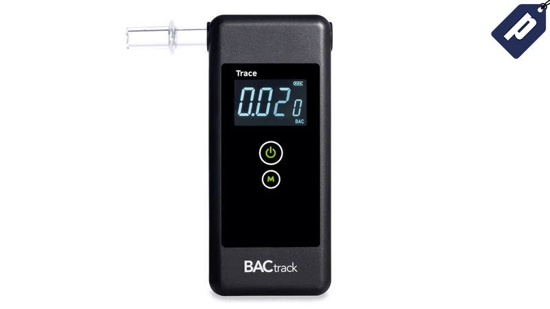 Illustration for article titled Get The BACtrack Trace Pro Breathalyzer For 40% Off + Free Shipping