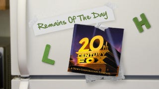 Illustration for article titled Remains of the Day: 20th Century Fox Movies Coming to YouTube and Google Play