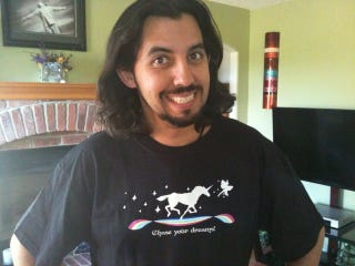Illustration for article titled This Unicorn Shirt Is Inspirational, Realistic