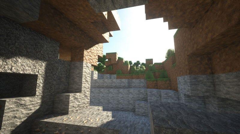 Illustration for article titled Esto es lo que pasa cuando añades luces y texturas fotorrealistas a Minecraft