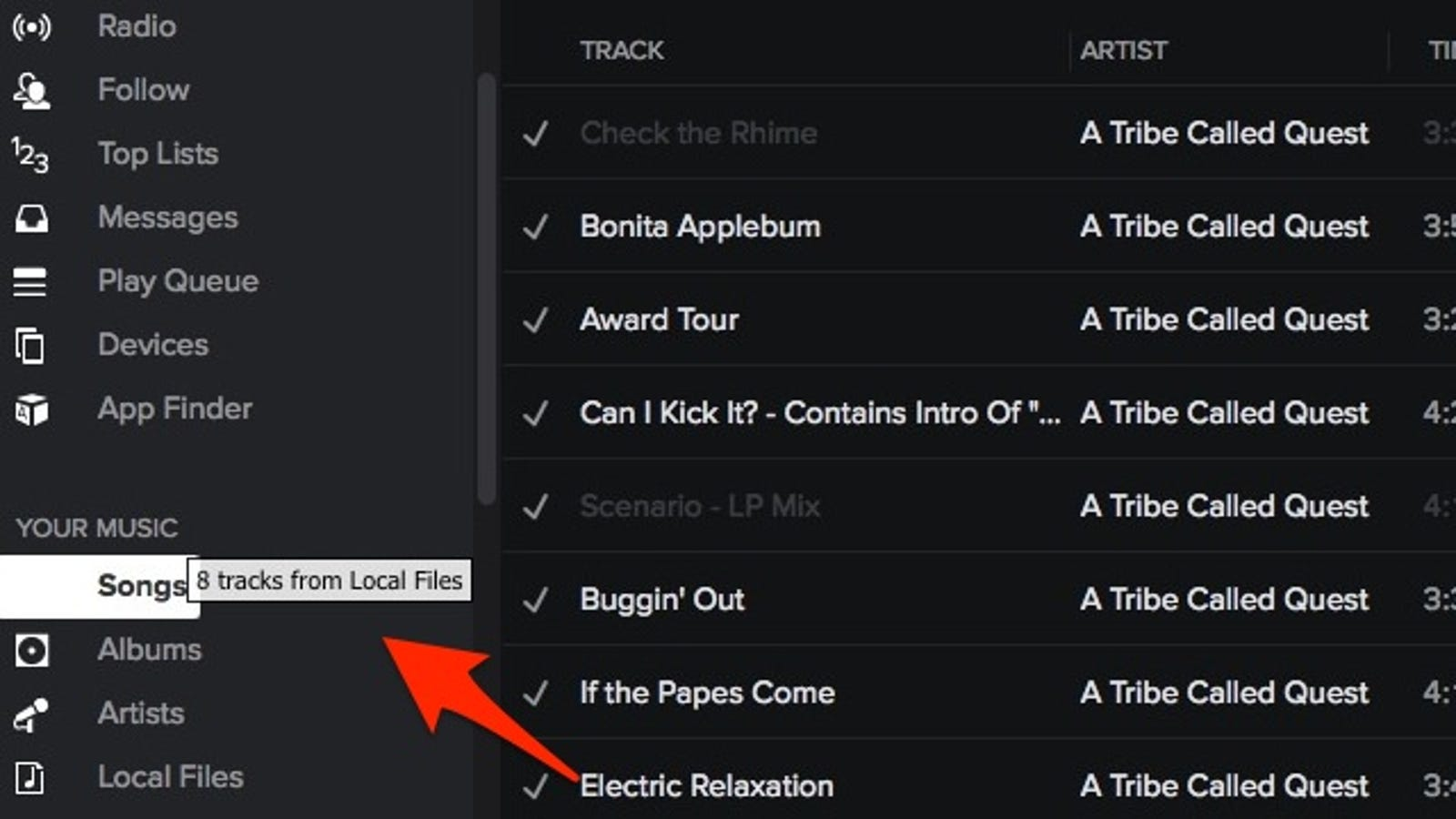 Synchronize Your iTunes Library with Spotify with a Click