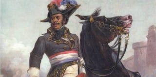 Thomas-Alexandre Dumas portrait by Olivier Pichat (Bruno Arrigoni/Musee Alexandre Dumas)