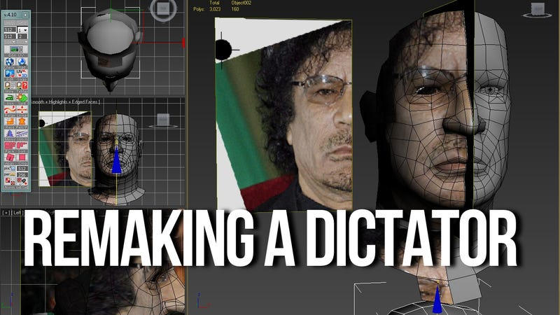 Illustration for article titled The Death of Muammar Gaddafi Makes News Today, Video Game Next Tuesday