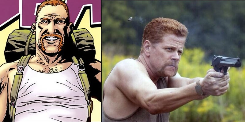 Illustration for article titled Walking Dead casts Eugene and a badass Abraham