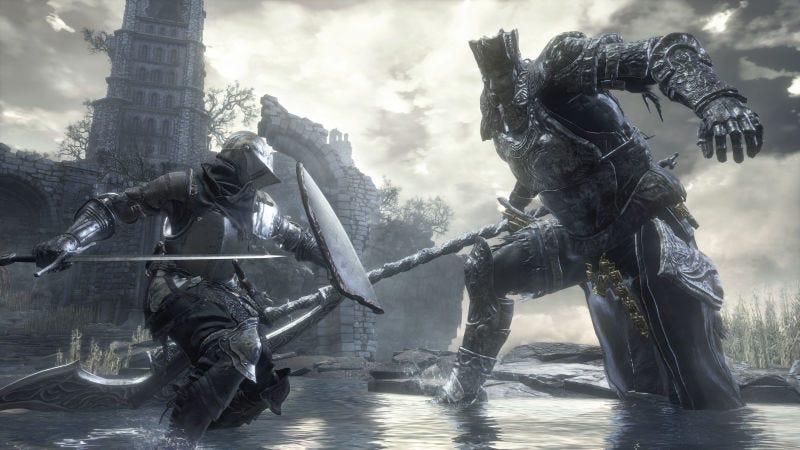 Illustration for article titled Destroza a uno de los jefes más difíciles de Dark Souls III mientras va desnudando asu personaje