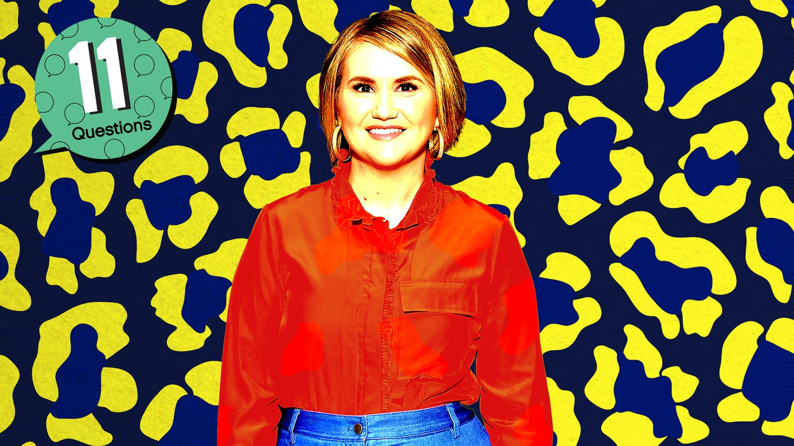 Yes, that was Jillian Bell on the jumbotron at a New Kids On The Block show