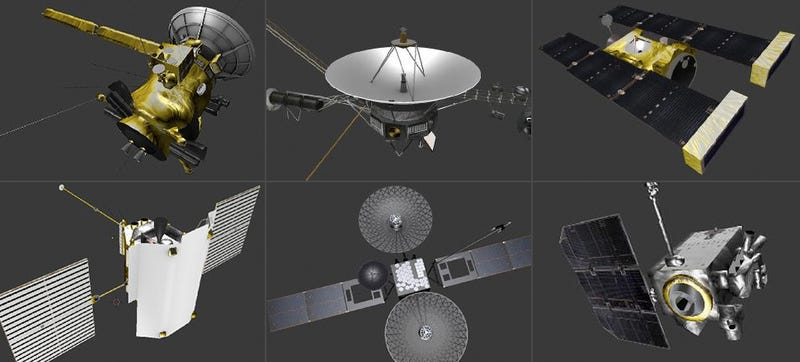 nasa released free 3dprintable models of its probes and